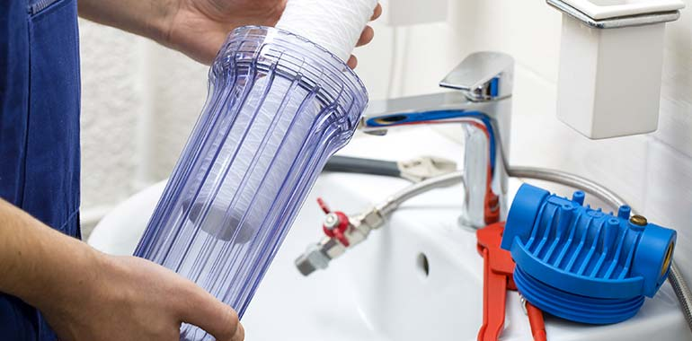 water filtration installation services