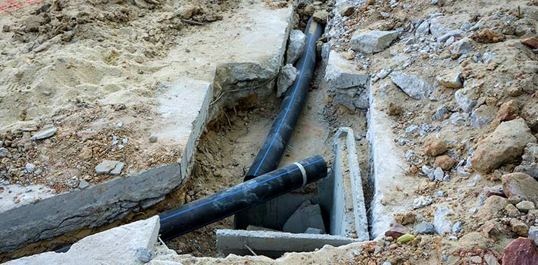 drain repair and replacement services